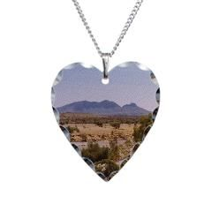 Mount Liebig Necklace Heart Charm