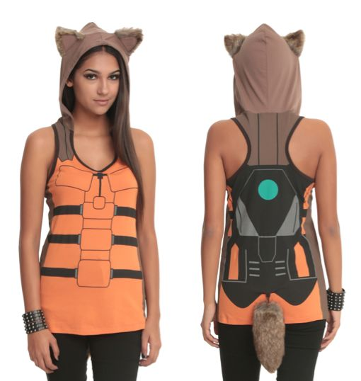 Her Universe debuts a tank top that turns you into Rocket Raccoon