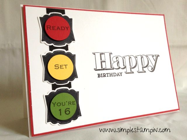 22 best cards car images on pinterest driving test homemade cards birthday card 16 stop light can drive cars now cute for a boy maybe bookmarktalkfo Image collections
