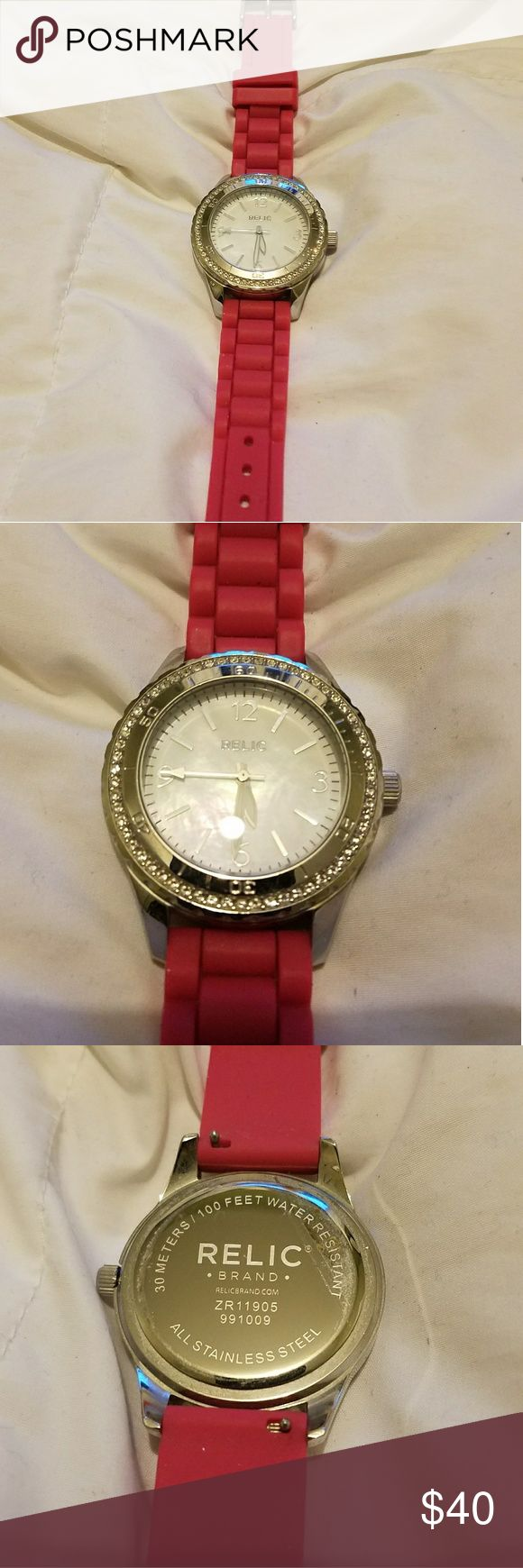 Relic Watch Great condition, dead battery Relic Accessories Watches