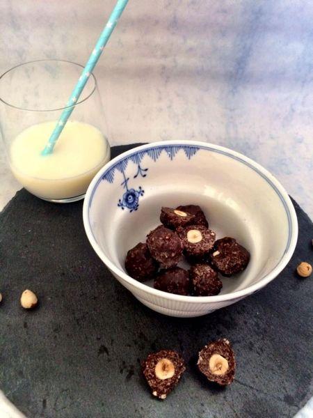 gluten- og sukkerfrie Ferrero Rocher kugler, Julie Bruun