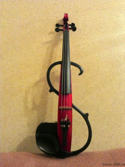 Вот так выглядит электроскрипка