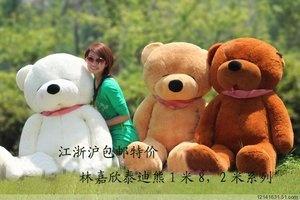 a big teddy bear for valentine's day