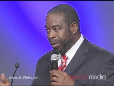 les brown you deserve Some motivational speakers will tell you about how to overcome adversity, but the inspirational les brown has lived the things he speaks of and then some.