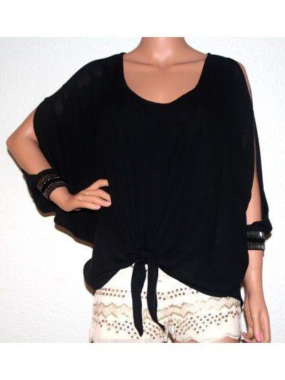 Lux Jasmin Tunica - Black