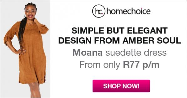 Spend R1299 or more and get a FREE Wrap PLUS guaranteed FREE AIRTIME when you purchase online with Homechoice #ad