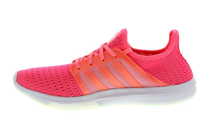 Adidas B24291 CLIMACHILL SONIC BOOST AL SHOES ADIDAS WOMEN'S RUNNING SHOE FLASH RED