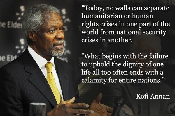 INFJ Diplomat: Kofi Annan