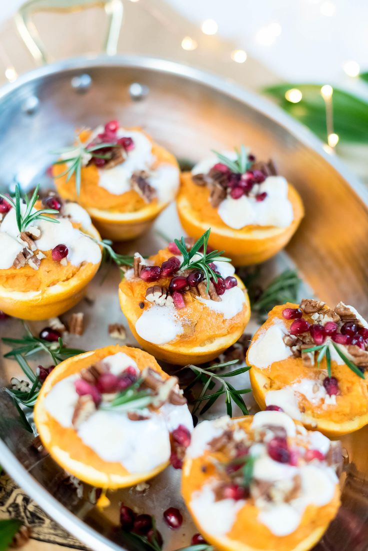 My Father's Favorite Sweet Potato Orange Cups for Thanksgiving