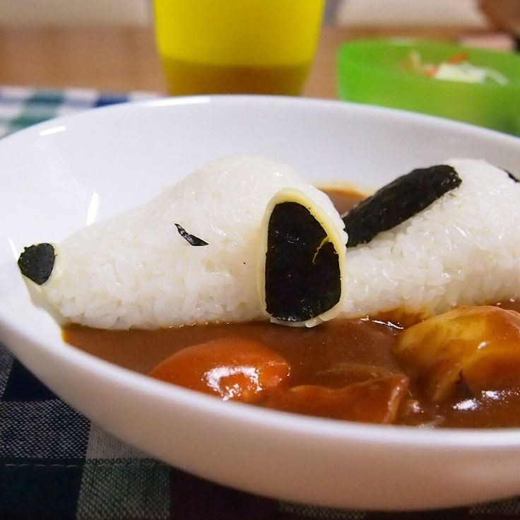 Curry & rice ~ Snoopy