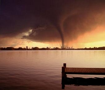 Kalmte voor de storm