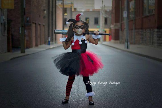 Superhero Inspired Collection: Harley Quinn Tutu Dress Set