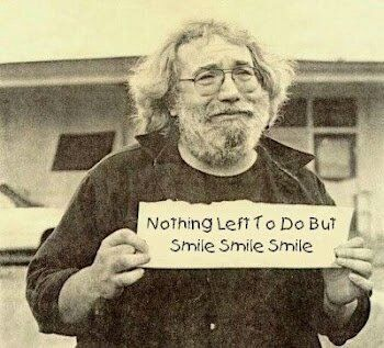 Jerry Garcia-Nothing left to do but Smile, Smile, Smile (Was Jerry a closet Breslover?)