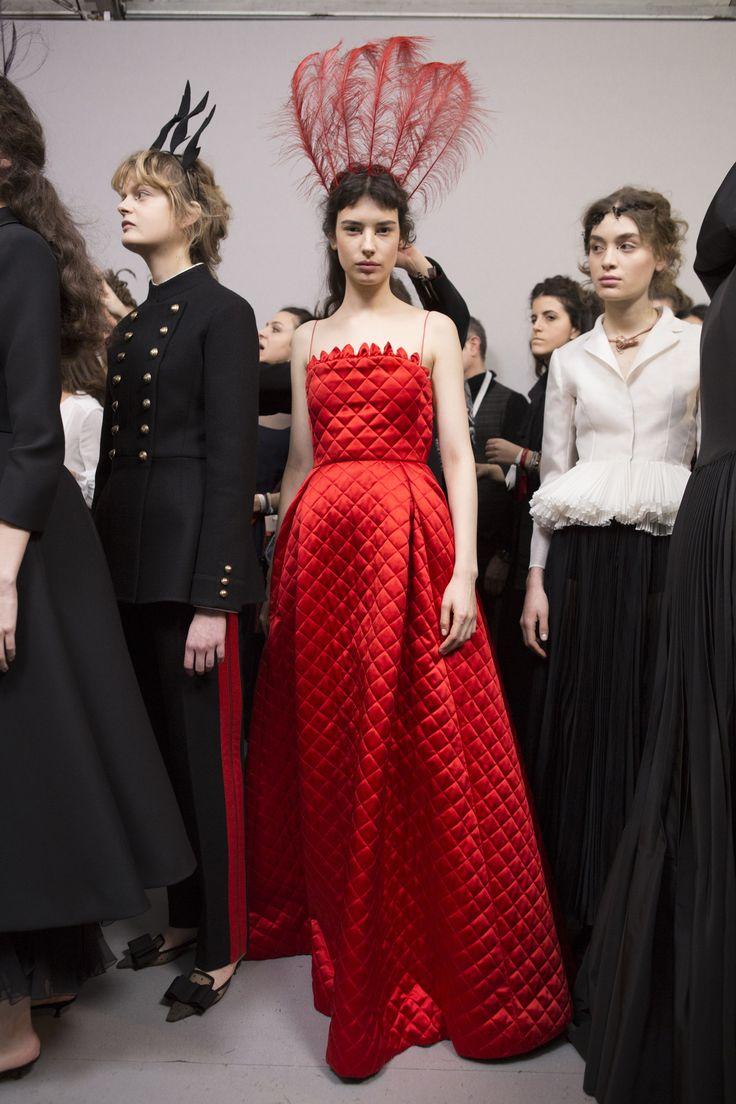 Christian Dior Spring 2017 Couture Fashion Show Backstage, Paris Couture Fashion Week, PFW, Runway, TheImpression.com - Fashion news, runway, models