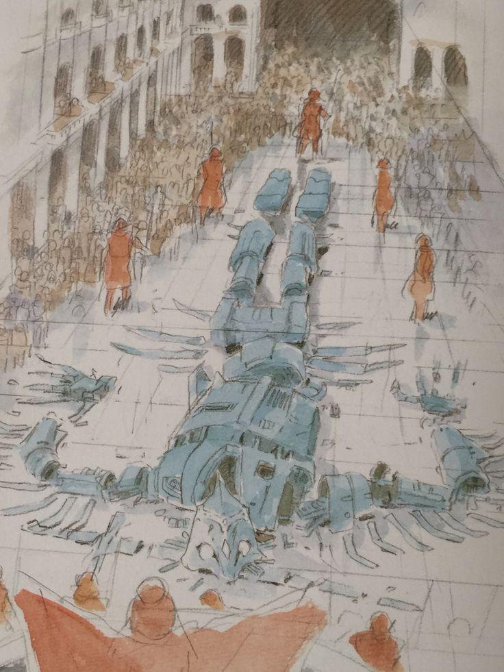 高速タービン • speakingofcomics: Hayao Miyazaki The Art of...