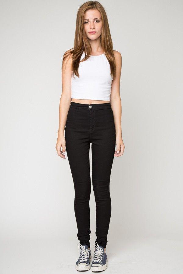 Brandy ♥ Melville | Pegah Skinnies - Clothing