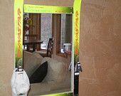 Items similar to Repurposed ski mirror on Etsy