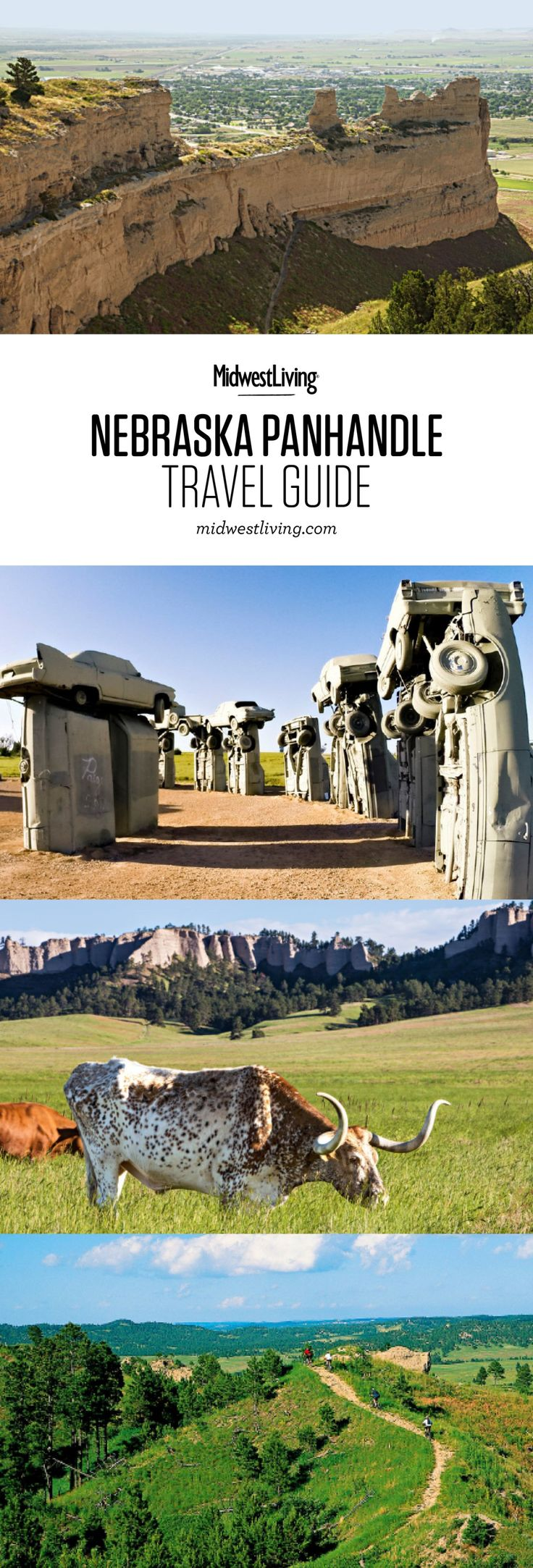 Badlands, big skies and a surprising spread of pine forests draw visitors through the Sandhills to the panhandle in northwestern Nebraska. Things to do in Nebraska's Wild West include visiting Fort Robinson State Park, Toadstool Geologic Park and Chadron State Park.