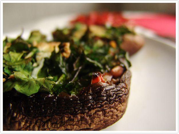 Le Passe Vite: Cogumelos Recheados