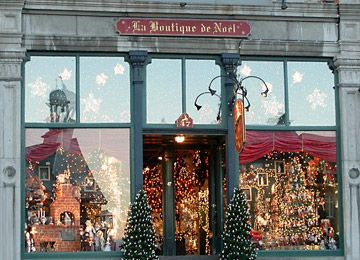 Old Québec   La Boutique de Noel   quebecgetaways.com. Better save your $ b/c you'll see things you'll never find anywhere else