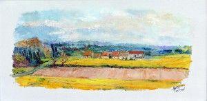 Ligueil sur la route de St Flavier, by hamelin michel