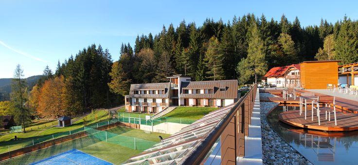 Wellness Hotel Horal - rezidence E - Velké Karlovice   www.horal-hotel.cz Hotel 4*