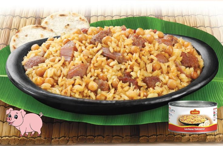 Lechona típica tolimense, comida lista y fácil de acompañar a cualquier hora y lugar.