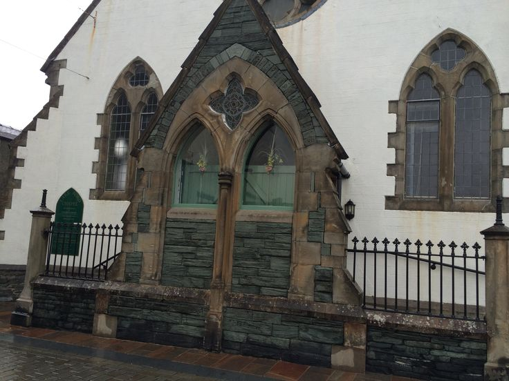 Beautiful little church in Keswick, Cumbria UK