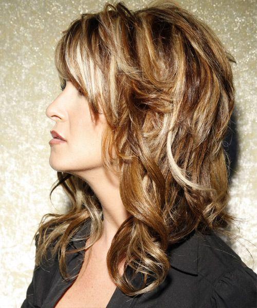 Haircut Styles For Long Thin Hair: Medium Brunette