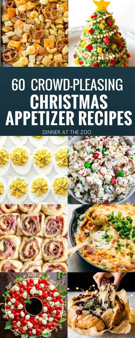 Christmas Appetizer Recipes | Hot Appetizers | Cold Appetizers | Holiday Appetizers