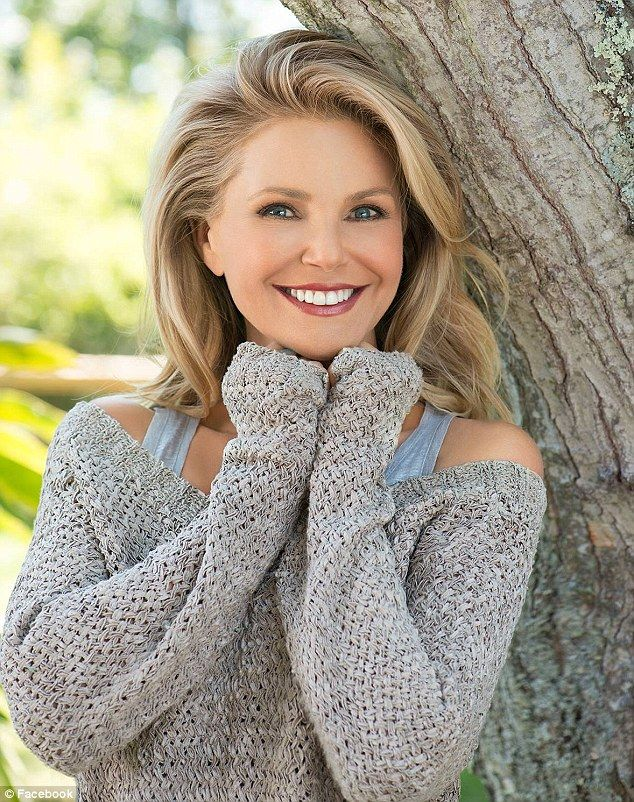 Flawless: Christie Brinkley, 60, has announced plans to launch a new anti-aging skincare line