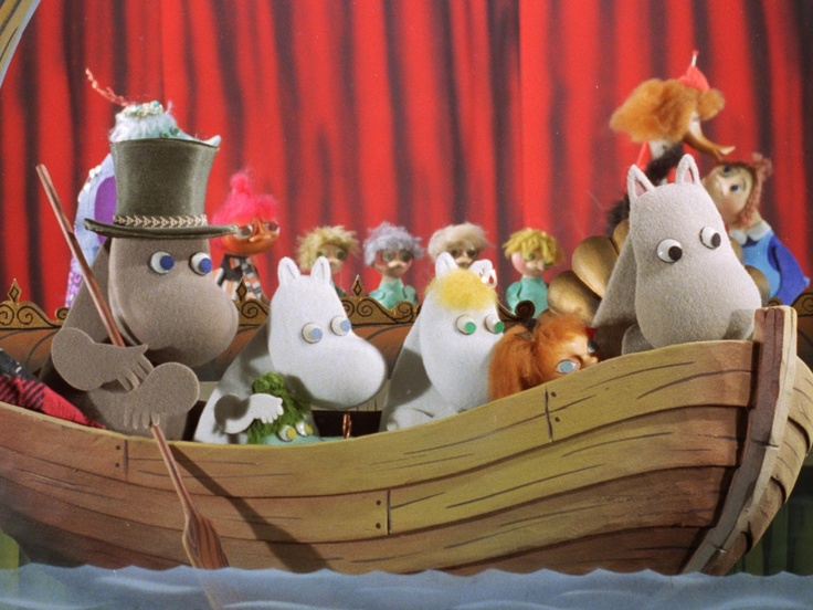 moomins, the original series. <3