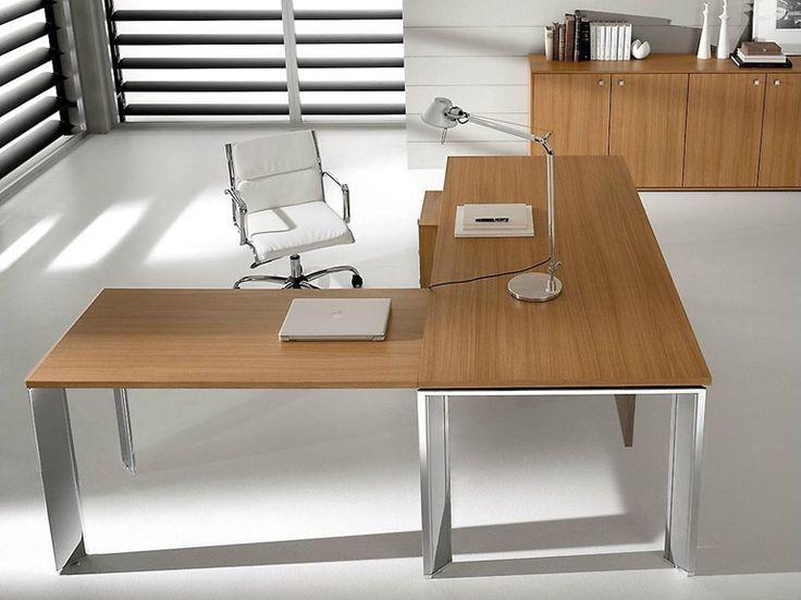 PRATIKO L-shaped office desk by IFT design Nikolas Chachamis