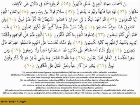 Hızlandırılmış 41 Yasin - Kabe imamı Maher al Muaiqly - YouTube
