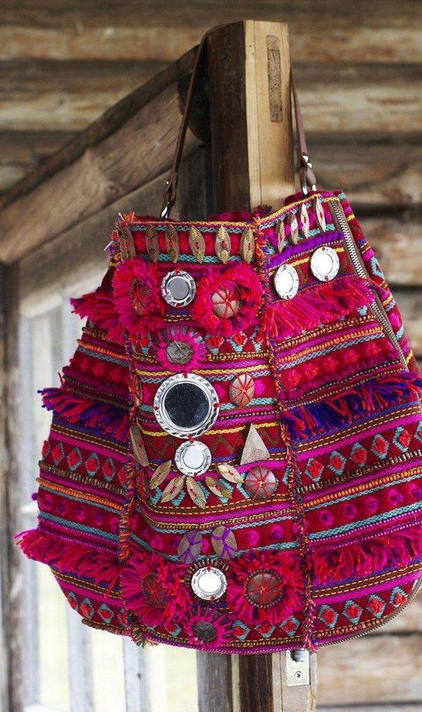 Acheter un sac à main pas cher - sac cabas ethnique - ethnic tote bag