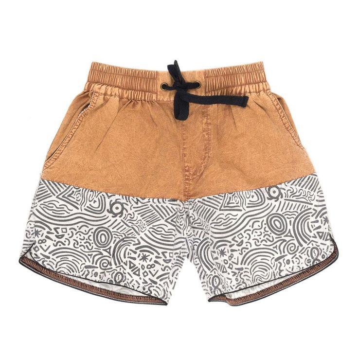 Stone Throw Draw String Shorts