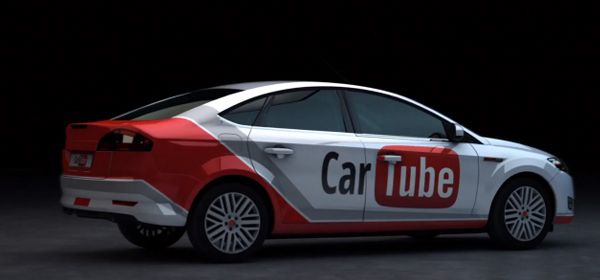 CarTube, el Carro de YouTube