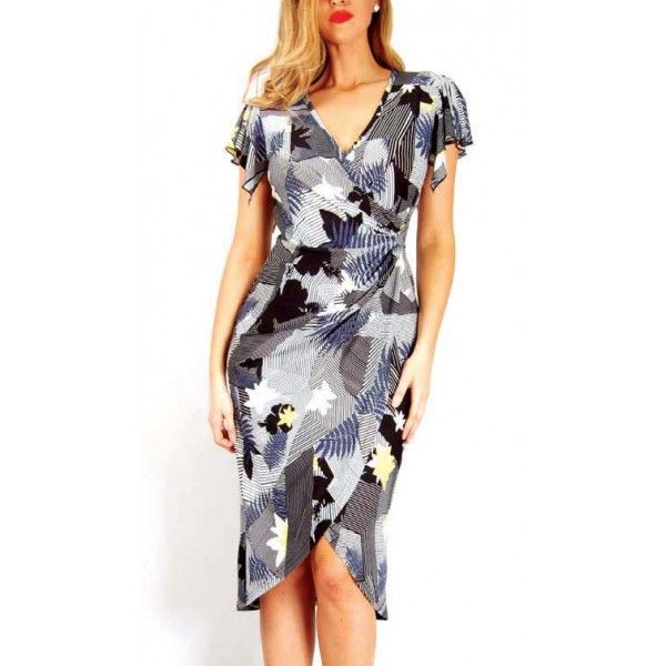 Rially Creative Wrap Dress
