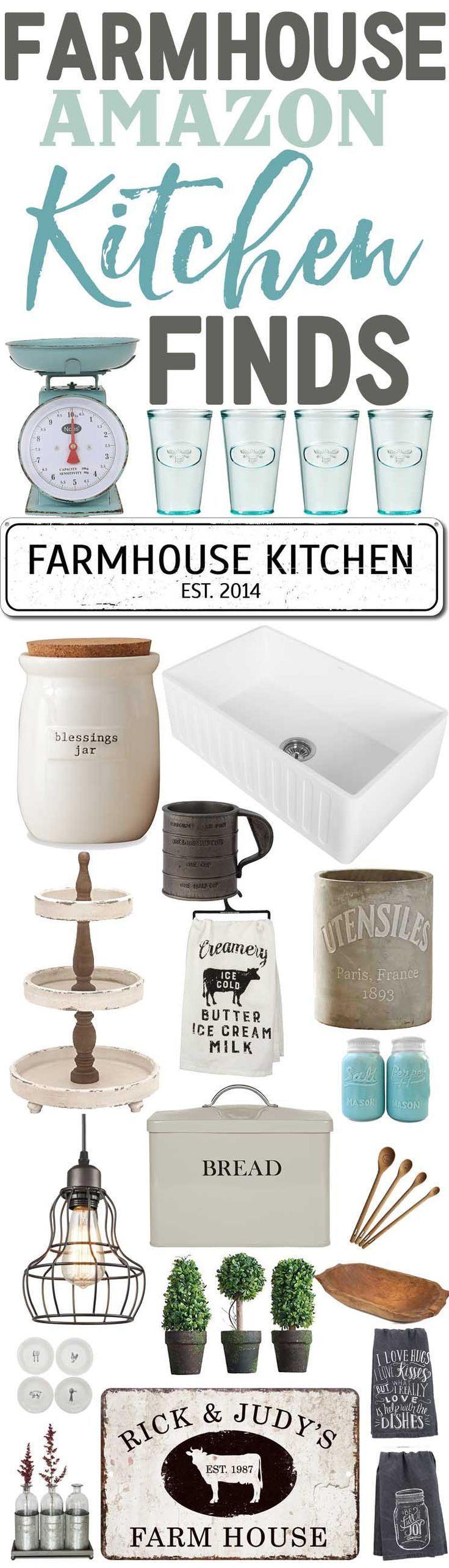 Farmhouse Kitchen Finds From Amazon-Affordable Farmhouse Kitchen Decor-www.themountainviewcottage.net.jpg