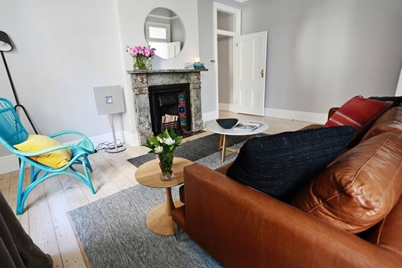 The Block All Stars: Room Reveal: Dan and Dani's Formal Lounge - my favourite room this week