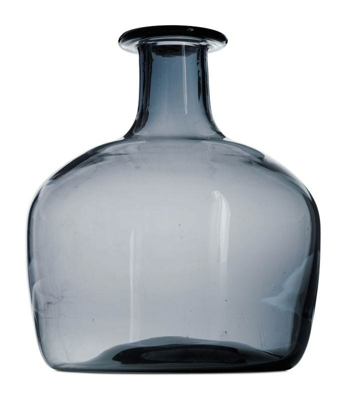 43 best images about grey glass on pinterest gray glass - Groaye glasvase dekorieren ...