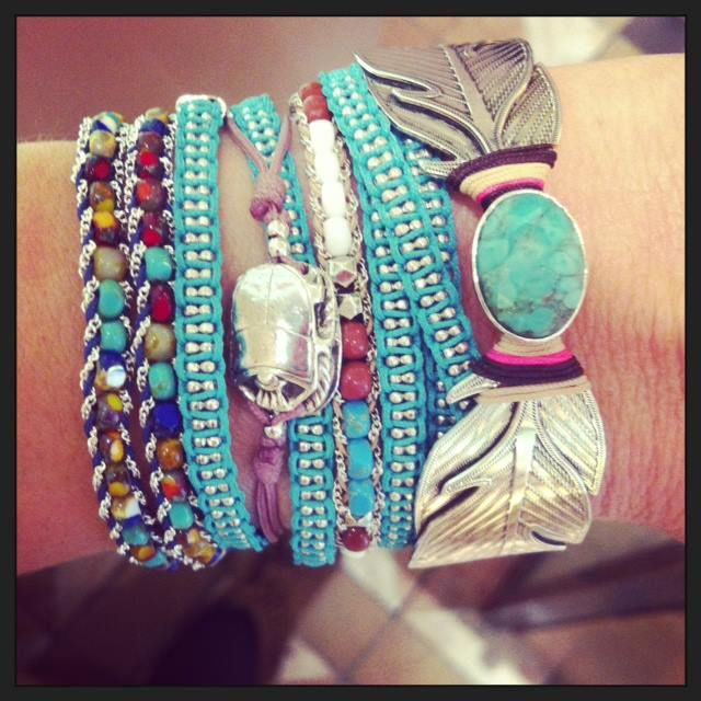 We Love Colorful Accessories.