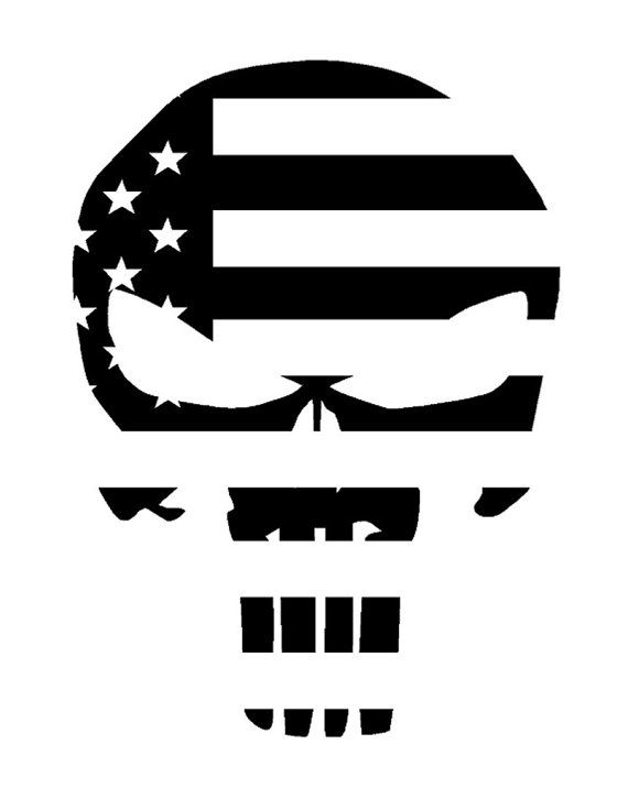 Hey, I found this really awesome Etsy listing at https://www.etsy.com/listing/221562749/the-punisher-skull-american-flag-decal