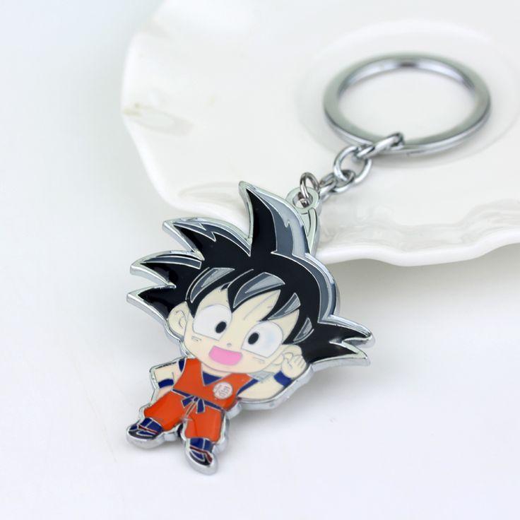 Anime Caractère Fils #Goku Dessinée Dragon Ball Z Porte-clés Pour Hommes Et Femmes