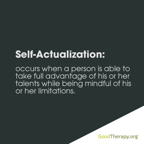 Self-actualization #Psychology