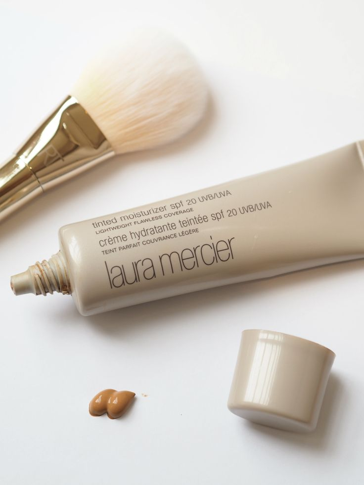 The Laura Mercier tinted moisturizer is a must have especially if you're getting tired of applying your foundation every morning.