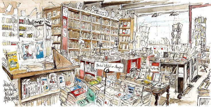 Niort, Librairie des Halles, Littérature