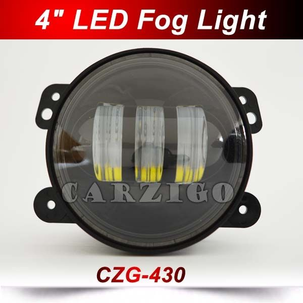 """27.00$  Buy now - http://ali728.shopchina.info/go.php?t=32672491985 - """"CZG430 4""""""""30w led fog light fog lamp Canton Fair new/hot product 4""""""""LED accessories 4*4 offroad for wrangler for harley motorcycle""""  #aliexpressideas"""