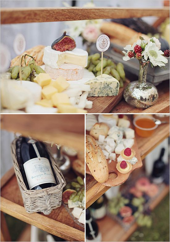cheese table - I'll leave this part of the planning to David ;)