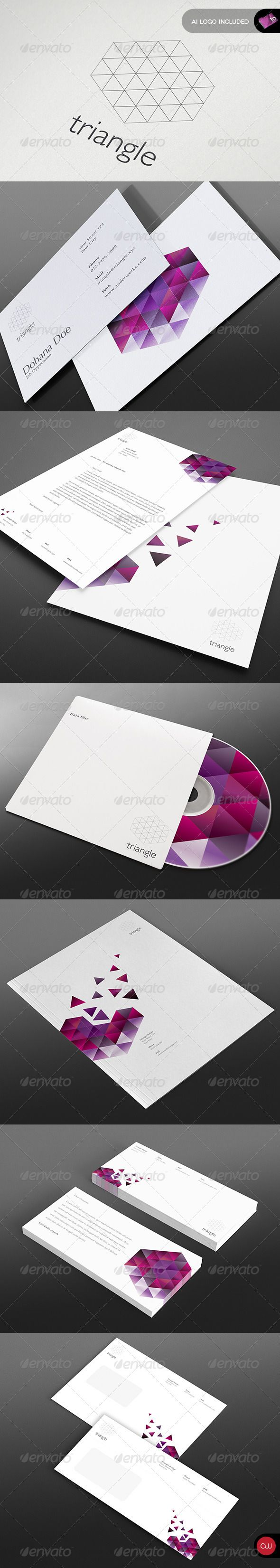 Modern Stationary  - Vol.12  InDesign Template • Download ➝ https://graphicriver.net/item/modern-stationary-template-vol12/2820641?ref=pxcr